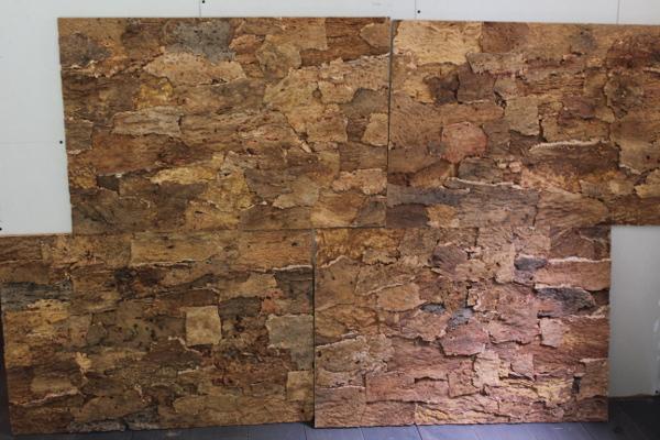 Diy kurk wand plaatsen artinato for Huisjes voor aan de muur