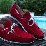 Bootschoen-rood
