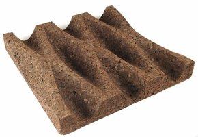 Geëxpandeerde kurk designpanelen wafel1 70mm