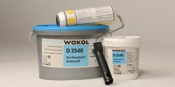 Ecologische - kurklijm - muren - vloeren -WAKOL - 5 KG