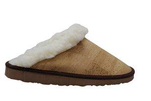 Kurk dames pantoffels