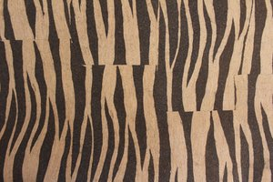 Kurk behang zebra