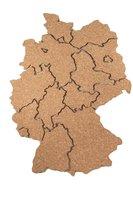 Landkaart Duitsland van kurk