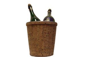 Grote kurk wijnkoeler