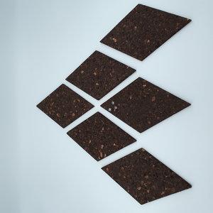 kurkprikbord-bruin